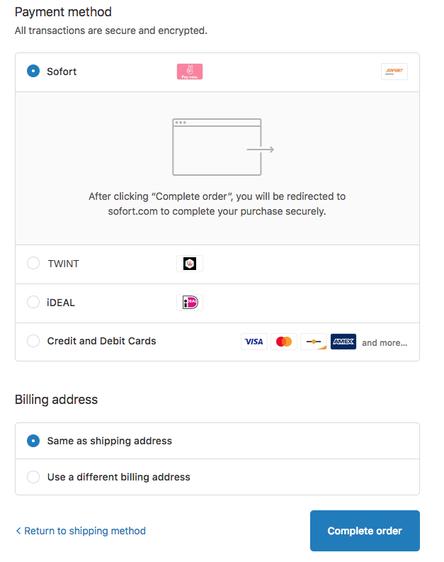 Payment Pre-selection in your Shopify Checkout